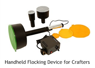 handheld flocking device