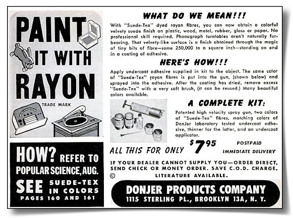 1948 DonJer advertisement in Popular Science